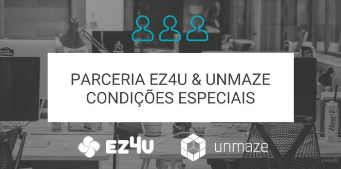 Parceria EZ4U (plataforma de SMS) e Unmaze CRM