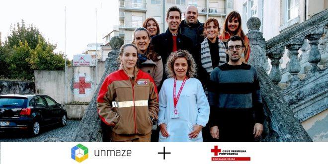 Unmaze Casos de Sucesso Equipa da Cruz Vermelha de Braga