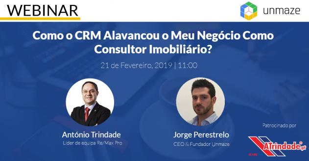 Webinar: Como o CRM Alavancou o Meu Negócio Como Consultor Imobiliário